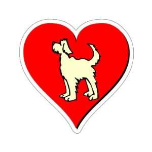 Dog Love   Window Bumper Sticker Automotive