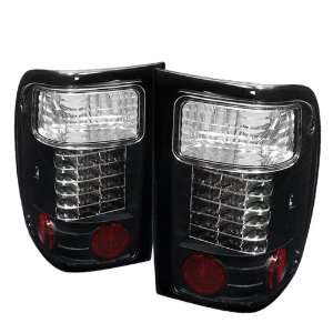 Spyder Auto Ford Ranger Black LED Tail Light Automotive