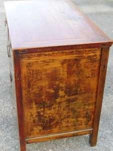 Asian Oriental Wood Antique Old Cabinet Altar Table Desk Furniture