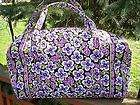 XL Duffel Plum petals Extra Super Large Travel Handbag sold out