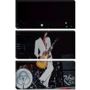 Jimmy Page of Led Zeppelin 1973 Photographic Canvas Art