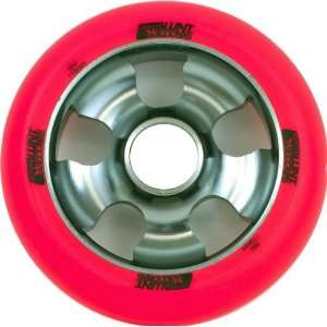 Envy 5 Spoke Wheel Grey Red 110mm