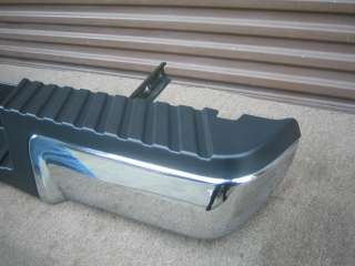 FORD F SUPER DUTY F250 F350 REAR CHROME BUMPER FACTORY OEM 09 2010