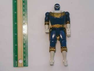Power Rangers Zeo Blue Flip Head Sphynx Ranger Figure