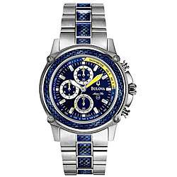 Bulova Mens Marine Star Blue Dial Watch