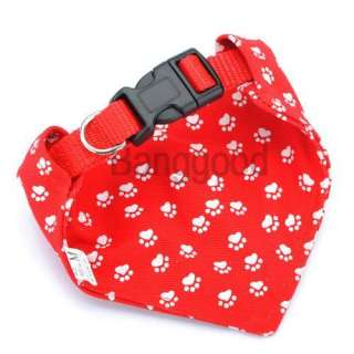 Adjustable Pet Dog Cat Puppy Bandana Costume Scarf Collar Neckerchief