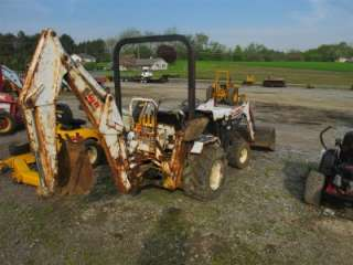 DIG IT 198T TRACTOR LOADER BACKHOE, RUNS AND DRIVES