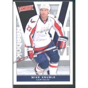 2010/11 Upper Deck Victory Hockey # 195 Mike Knuble Capitals / NHL