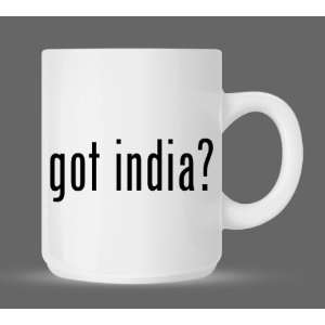 got india?   Funny Humor Ceramic 11oz Coffee Mug Cup
