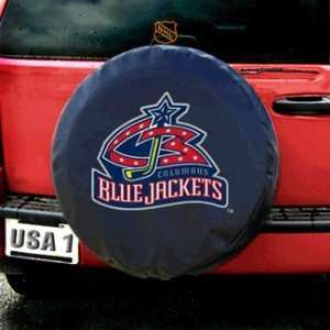 Columbus Blue Jackets NHL Spare Tire Cover by Fremont Die