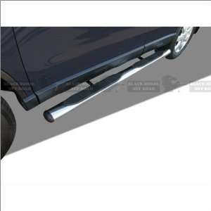 Black Horse Stainless Steel Oval Nerf Bars 07 11 Honda CR