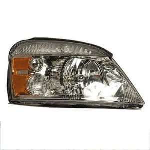 2004 07 FORD FREESTAR HEADLIGHT ASSEMBLY, PASSENGER SIDE