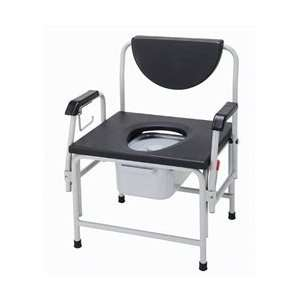 Drive Bariatric Extra Large Heavy Duty Drop Arm Commode   11138 111138