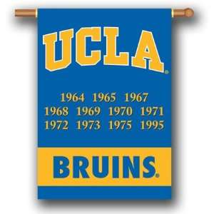 NCAA UCLA Bruins Flag   Championship Years Patio, Lawn