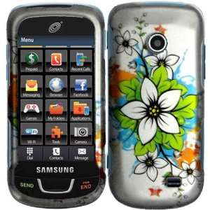 Flowers Hard Case Cover for Samsung T528G Cell Phones & Accessories