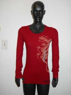 LUCKY BRAND THERMAL DRAGON T SHIRT NWOT