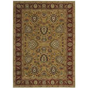 Tommy Bahama paisley lagoon gold Rectangle 1.90 x 2.90 Area Rug