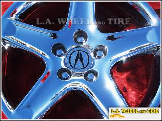Set of 4 New Chrome 17 Acura TL OEM Factory Wheels Rims CL RL TSX MDX