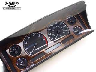 JAGUAR XJ6 GAUGE INSTRUMENT CLUSTER SPEEDOMETER PANEL