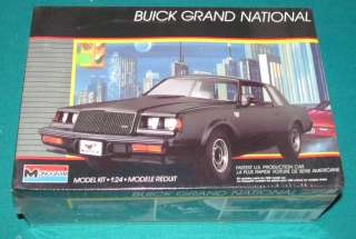 1988 Buick Grand National Monogram 1/24 Factory Sealed