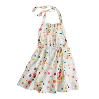 Girls apron dress in wildflower print   party   Girls dresses   J