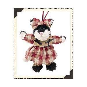 Espresso Frisky 5.5 Boyds Cat Ornament (Retired