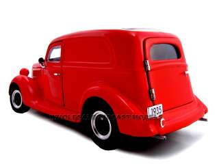24 scale diecast model of 1935 ford sedan delivery die cast car by