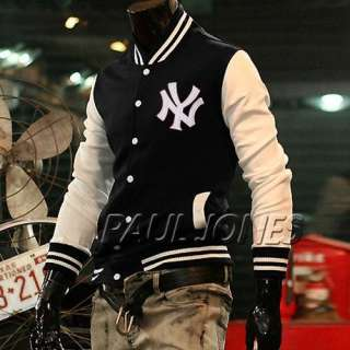 Logo Baseball Jackets For Men Uniform SWEATER CASUAL SPORT Coat