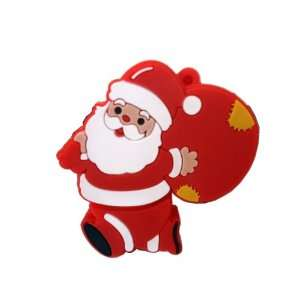 8GB CHRISTMAS XMAS SANTA CLAUS FIGURE USB FLASH DRIVE