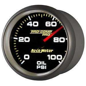 Pro Comp Pro 2 5/8 0 100 PSI Full Sweep Electric Oil Pressure Gauge