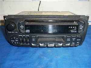 01 02 Dodge Durango CD Cassette Player Radio OEM LKQ