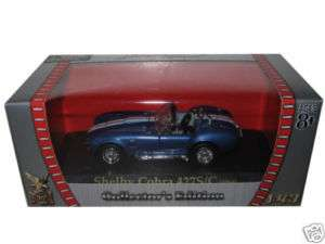 1964 SHELBY COBRA 427 S/C BLUE 1/43 DIECAST CAR MODEL