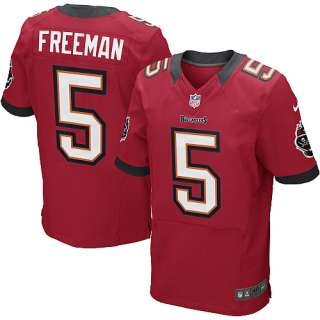Mens Nike Tampa Bay Buccaneers Josh Freeman Elite Team Color Jersey
