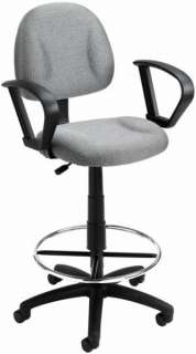 BRAND NEW Drafting Stool   Height Adjustable with Arms and Foot Ring