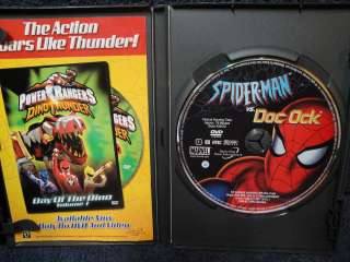 Spider Man   Spider Man vs. Doc Ock (DVD, 2004) Read Description