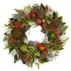 Decor   Holiday Decorations   Christmas   Wreaths & Garland