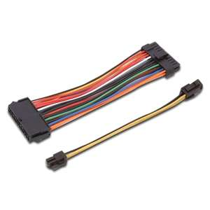 Silverstone 20/24 Pin ATX Power Supply Extension Cable Kit at
