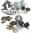1955 1956 1957 CHEVY BELAIR FRONT REAR DISC BRAKES KIT