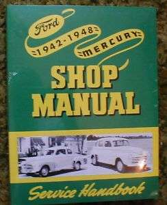 1942   1948 Ford & Mercury Shop Manual 48 43