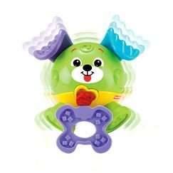 NEW FISHER PRICE BRILLIANT BASICS TUG GIGGLE PUP LAYBY