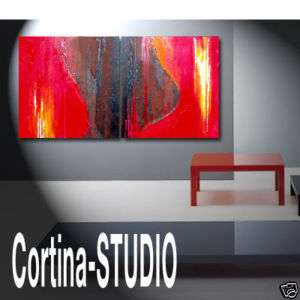 CONTEMPORARY MODERN abstract ART original PAINTINGS