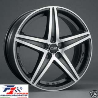 CERCHI OZ RACING ENERGY MATT BLACK DA 16 4X100 ALFA ROMEO MITO 145
