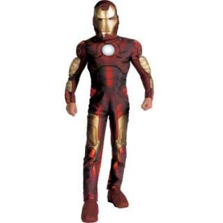 Costumes Iron Man 2008 Movie Light Up Muscle Chest Child Costume