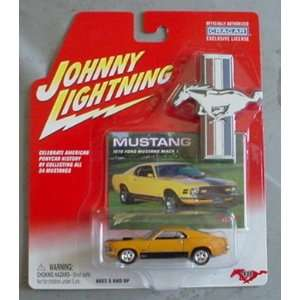 Mustang Series 1970 Ford Mustang Mach I ORANGE #18 Toys & Games