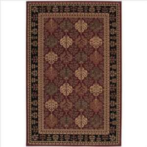 58038 870 Estate Traditional Enchantment Red Rug Furniture & Decor