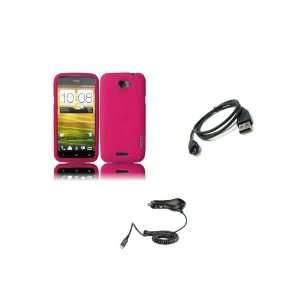 Mobile) Premium Combo Pack   Pink Silicone Soft Skin Case Cover