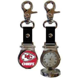 NFL Kansas City Chiefs Clip On Watch