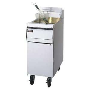 Frymaster Gas Economy Commercial Deep Fryer   Open