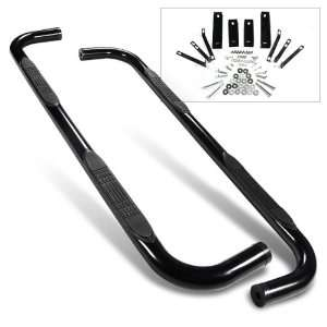 Black Side Step Nerf Bars  Dodge Ram 1500 Quad Cab 2009 Automotive