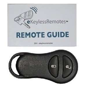 1999 2002 Dodge Ram Van Keyless Entry Remote Fob With Do It Yourself